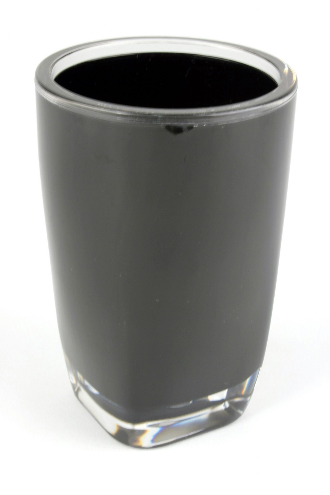 Acrylic bathroom tumbler plastic bathroom water cup 260ml for White bathroom tumbler