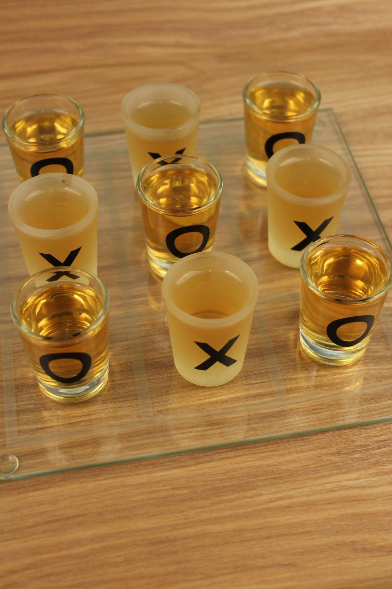 Shot Glass Noughts And Crosses Drinking Game