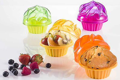 Cupcake or Muffin Container Cake or Desert Storage
